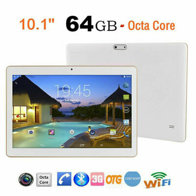 """4G+64G 10.1"""" Tablet PC Android 7.0 Octa-Core Dual SIM &Camera Wifi Phone Phablet"""