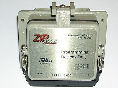 Automation Direct, Zp-Psa-32-400, Zipport Panel Connector, Used Sales Demo