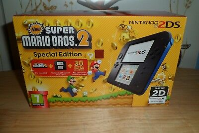Nintendo 2Ds Special Edition With New Super Mario Bros 2******Bnib******New*****