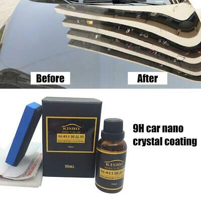 9H Ceramic Car Coating Kit Anti-scratch Polish Exterior Care Paint Sealant 30ML