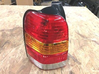 2001 Ford Escape Tail Light Driver 2007