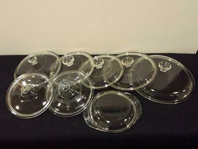 Assorted Glass PYREX Lids ~ 945C ~ 240 ~ Fire King Oval ~ Price for 1 ~ You Pick