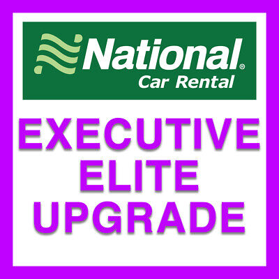National Emerald Club Executive Elite Upgrade | Valid 2 Years!