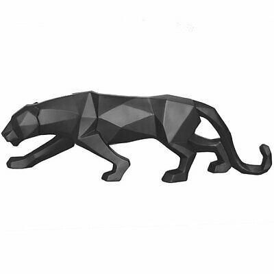 Present Time Statue Origami Panther Schwarz