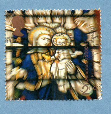 GB/UK stamp 2000 Spirit and Faith. Edmundsbury Cathedral