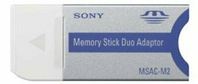 SONY MS PRO DUO Adapter Memory Stick Card Reader