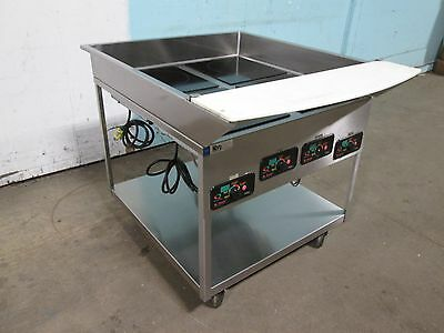 """""""Mr Induction"""" Heavy Duty Commercial.electric Induction Warmers On S.s. Cart"""