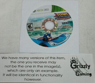 USED Sonic & All-Stars Racing Transformed Microsoft XBOX 360 (Disc Only)