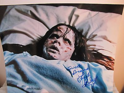 "VERY RARE! LINDA BLAIR - ""The Exorcist"" Autographed Signed 8 x 10- COA Included!"