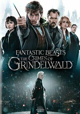 Fantastic Beast:the Crimes Of Grindelwald (New,2019,Dvd,Release) Free Shipping.