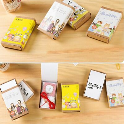 100 PCs/lot Cute Stationery Diary Diy Bookmark Label Cartoon Style Stickers