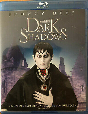 Dark Shadows  Tim Burton  Johnny Depp    Blu-Ray  Tbe