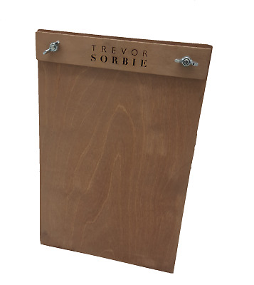 Personalised Wooden Menu Clip Board Warwick A5/A4 (incl VAT)