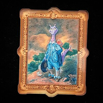 Figment Blue Boy Masterpiece Painting Magnet Disney Epcot Festival of Art NO Pin