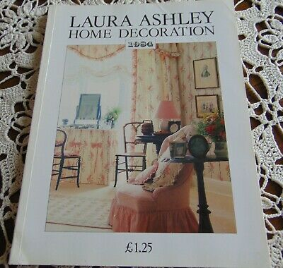Laura Ashley Vintage 1984 Home/Furnishing/ Home Decoration Catalogue - Rare