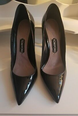 e215c7e5d41 Auth TOM FORD Pointed Toe patent leather HEELS Pumps Classic Sold Out 💥 41   11b