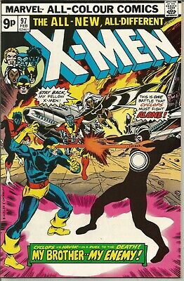 X-MEN (The Uncanny) - No.97 (February 1976) Near Mint condition 8.0