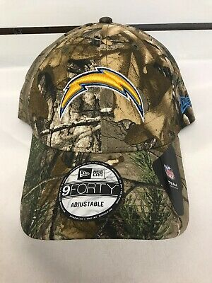 best service 86a8d f0879 New Era Los Angeles Chargers Camouflage Hat 9 Forty Adjustable NFL Cap