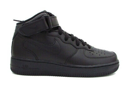 competitive price d5023 a553b Nike Air Force 1 Milieu  07 Total Black 315123-001
