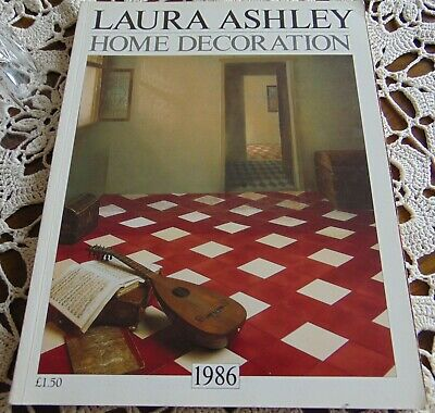Laura Ashley Vintage 1986 Home Decoration/ Furnishings Catalogue - Rare
