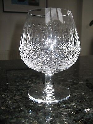 "Waterford Crystal Colleen Large Brandy Glass 5 1/4"" Signed Ex.Con Sparkling"