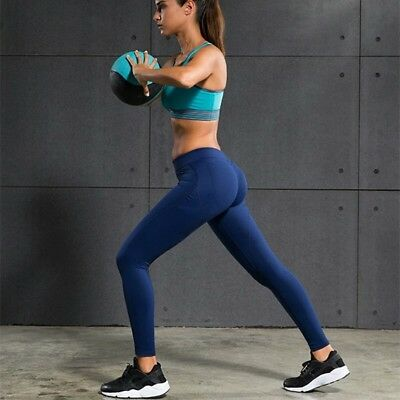 Leggins fitness per yoga, pilates, palestra sport. Sexy pants hips push up.