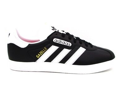 super popular 60d97 88653 Adidas Gazelle Super Essential Sneakers Nero Bianco Cq2794