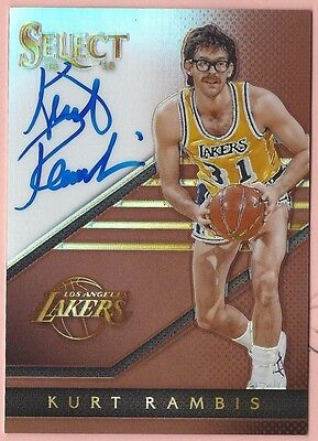 Kurt Rambis - 2014-15 Select Signatures Prizms Copper #37 AU (42/49)