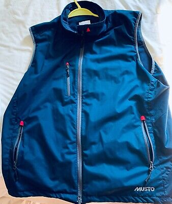 MUSTO MENS CORSICA Waterproof Fleece Lined Gilet XXL