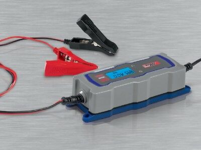 Car  motorcycle inteligent Battery Charger 3.8A 6v 12v 4 programme with display