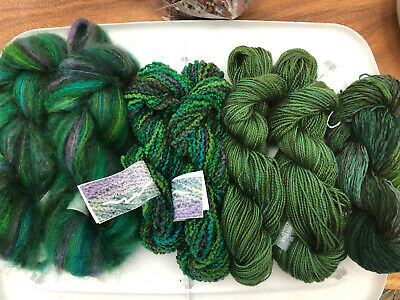 Mountain Colors Yarns Warm And Wooly Throw Forest Colorway
