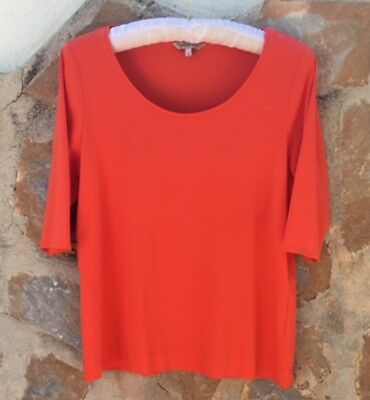 Marks & Spencer Limited Edition Top Size 18. Never Worn, In Bright Orange.