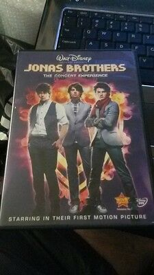 Jonas Brothers - The Concert Experience (DVD, 2009)
