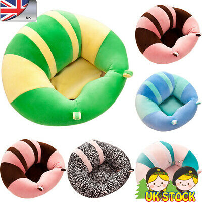 Newest Baby Support Sofa Booster Seats Chair Cushion Soft Plush Pillow Best Gift