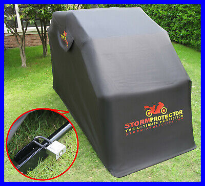 Motorcycle Garage Steel Secure Cover Bike Storage