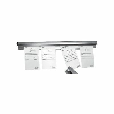 """Prince Castle 48-S Tuck-A-Note 48"""" Aluminum Order Holder"""