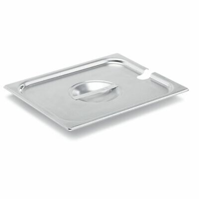 Vollrath 75220 Super Pan V S/S Half Size Slotted Cover
