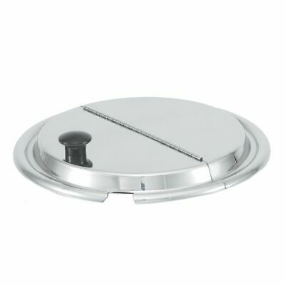 """Vollrath 47490 S/S 11-7/16"""" Hinged Inset Cover"""