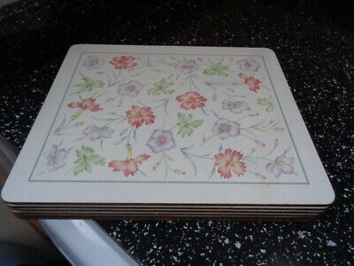 Boots Carnation Placemats X 6