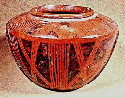 Pre-Columbian Decorated Bowl Nariño Capulí Colombia Coa
