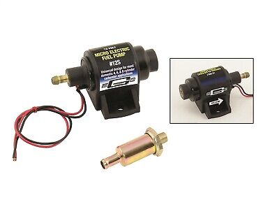 Mr. Gasket 12S Electric Fuel Pump For Use w/Carburetor Domestic 4-7 psi