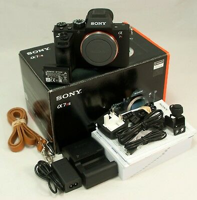 Sony Alpha A7r II Mirrorless Digital 42.4MP Camera -Boxed, MINT, Just 4210 count