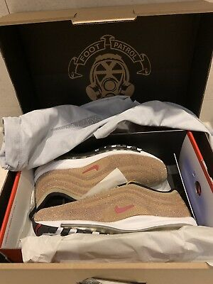 sports shoes 3d361 5edce Nike Air Max 97 LXX WMN Swarovski Gold LIMITED UK6 In Hand