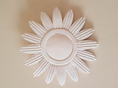 1 Ornate decorative sunflower style plaster wall ceiling rose plaque diy new