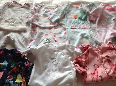 Newborn Baby Girl Clothes Bundle, Some NWOT. Next & Disney Baby.