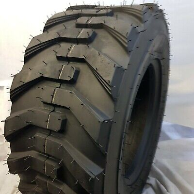 1 - 12x16.5, 12-16.5 ROAD WARRIOR AIOT-12 SKID STEER TIRES SKS 12 PLY FOR BOBCAT