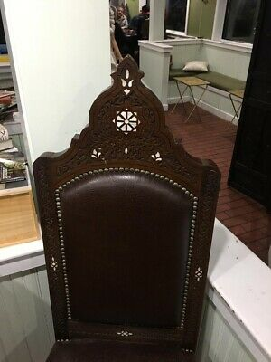 antique dining room chairs beech wood