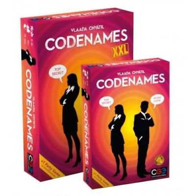 Codenames XXL Board Game by Czech Games: The Codenames Card Game Just Got Bigger