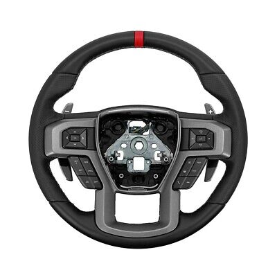 Ford Performance Raptor Steering Wheel Kit for 2015-2018 F-150 W/ Red Sight line