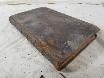 Antique 18th or 19th century book on native americans eastern united states